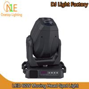 Quality 60W LED Moving Head Spot Light DJ Light Factory wholesale
