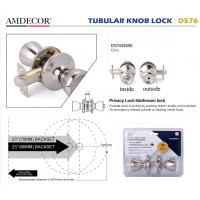 Quality Modern Style Door Lock Hardware Accessories Cylindrical Rotary Knob wholesale