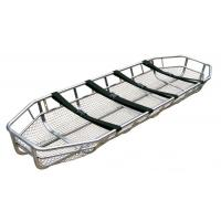 Quality Stainless Steel Patient Transport Stretchers / Basket Stretcher For Hospital wholesale