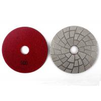 Quality 100# 3 Inch Vacuum Brazed Diamond Tools Glass Polishing Pads Easy Operation wholesale