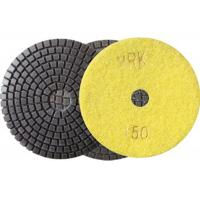 Quality 100mm 4 Inch Diamond Wet Resin Polishing Pads High Efficient disc wholesale