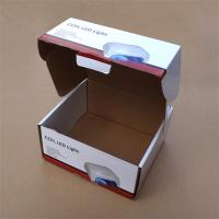 Quality Strong Cardboard LED Light Packaging Boxes with Locking Lid wholesale