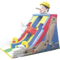 China big inflatable slides, cheap inflatable slides for sale on sale