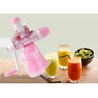 Quality Home Style Slow Cold Press Fruit And Vegetables Juice Maker Mini Manual Juice Machine wholesale