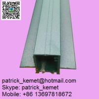 Quality green powder coated aluminum extrusion profile for windows and doors wholesale