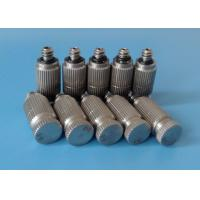 Quality cooling system stainless steel Anti-drip low pressure fog mist spray nozzle wholesale