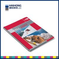 Quality Glossy coated art paper Spiral Bound Book Printing , colour book printing wholesale