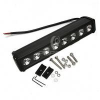 Quality Portable Off Road LED Light Bars For Trucks 80w Energy Saving Cree Chip wholesale