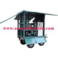 Quality MTP Mobile Trailer Type High Vacuum Transformer Oil Purification Systems wholesale