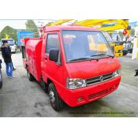 Quality Industrial Fire Engine Vehicle For Quick Fire Service With Steel Material Body wholesale