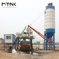 China Simple Line HZS60 Bucket Hoist Concrete Ready Mix Plant on sale