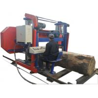 Buy cheap Hydraulic Automatic Wood Cutting Horizontal Band Sawmill Portable Bandsaw from wholesalers