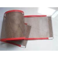China PTFE coated fiberglass mesh fabric/cloth ptfe conveyor beelt - used for cooking food on sale