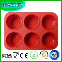Quality 6 Flowers Silicone Muffin Cups Handmade Soap Molds Biscuit Chocolate Ice Cake Baking Mold wholesale