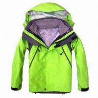 Quality Children's Outdoor Jacket in Light Green wholesale