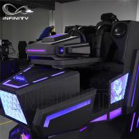 Cheap Cockpit 360 Degree VR Motion Racing Simulator For Shopping Mall for sale