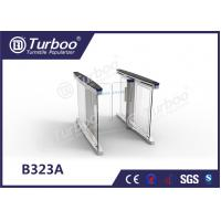 Quality Swing RFID Barrier Gate Automatic Systems Turnstiles Problem Self Checking Function wholesale