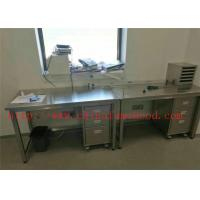 Buy cheap Customized Size Science lab Furniture Designing And Planning Stainless Steel Lab from wholesalers