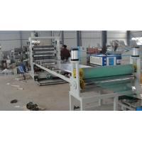 Quality Plastic Sheet Extrusion Line , Twin Screw PVC Extrusion Machinery wholesale