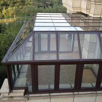 Quality Residential Aluminum Sun Room Free Standing For Winter Garden / Glass House wholesale
