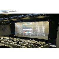 Quality Pneumatic / Hydraulic / Electronic Control 4D Movie Theater Motion Chair Cinema System wholesale