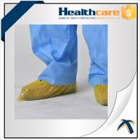 Quality Blue Color Disposable Shoe Covers CPE Round Or Flat Elastic Size With CE ISO FDA wholesale