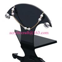 Quality Acrylic Necklace Display , Perspex Necklace Holders, Plexiglass Necklace Display Stand wholesale