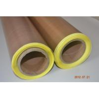 Quality PTFE/Teflon coated glass cloth adhesive tape with release paper wholesale