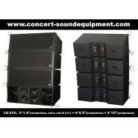 Quality Dual 12 Inch 1560W Line Array Speaker With Neodymium Drivers For Concert , Living Event wholesale