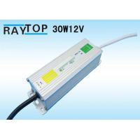 Quality High Efficency 30W waterproof power supply  For LED Light EMC IP67 Constant Current 12V wholesale