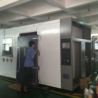 Quality High Precision constructed polyurethane-foamed panels Environmental Walk-In Chamber for research testing wholesale