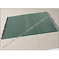 Quality Hookstrip Flat Rock Shaker Screen For Model 2000 Shale Shaker Solids Control System wholesale