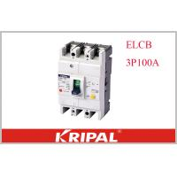 Quality KRIPAL UKM30L-100S 3P CE Leakage / Residual Current Molded Case Circuit Breaker Earth Leakage ELCB Non delay type wholesale