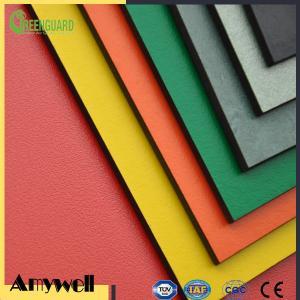 China Amywell high density waterproof fireproof phenolic compact laminate hpl 6mm on sale