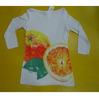 Quality Womens Loose Fit T Shirts Three Quarter Length , Comfy Modal Fabric T Shirts wholesale