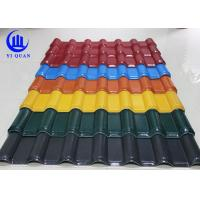 Quality Unbreakable Waterproof Synthetic Resin  Roof Tile with ASA Coating wholesale