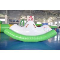 Quality 0.9mm PVC Tarpaulin Inflatable Water Totter / Inflatable Water Seesaw For Pool wholesale