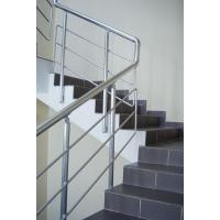 Quality aluminum removable straight stair handrail/balustrade/railing wholesale