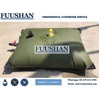 China Fuushan Camping Application 1000 liter Plastic Water Storage Tank Bladder on sale