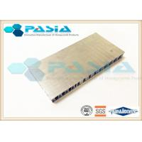 Quality General Purpose Aluminium Honeycomb Panel with Edge Exposed and 1220 mm width and 2440 mm Length wholesale