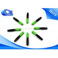 Quality SM Optical Fiber Fast Connector 60mm 0.2dB Insertion Loss 60x9x7mm wholesale