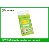 Quality JOYPLUS Microfiber Cleaning Products Microfiber Glass And Mirror Cloth 200GSM wholesale