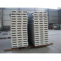 Quality Fireproof PU Sandwich Panel Insulation 50mm Thickness for Prefabricated House wholesale