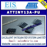 China ATTINY13A-PU - ATMEL - 8-bit Microcontroller with 1K Bytes In-System Programmable Flash on sale