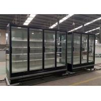 Buy cheap 3.75M Vertical Remote Multideck Fridge , Commercial Glass Door Refrigerator from wholesalers