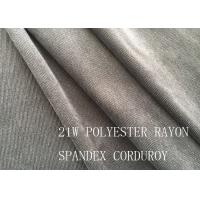 Cheap 90%P 8%N 2%SP 21W POLYESTER RAYON SPANDEX CORDUROY FOR COAT for sale