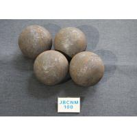 Buy cheap B3 D100MM Grinding Balls For Ball Mill  High Hardness 61-62HRC for Cement Mill / Copper Mines product