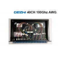 Quality 40  Channels Arrayed Waveguide Grating Passive Optical Network Rackmount Module wholesale
