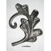 Quality casting wrought iron leaves wholesale