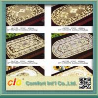 China Table Mats Design Vinyl Table Cloth 0.08mm - 0.30mm Thickness on sale